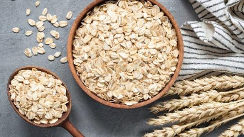Yến mạch giàu chất xơ tốt cho quá trình giảm cân